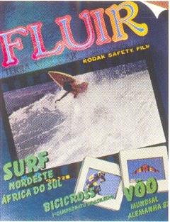 Capa da edição de estréia de Fluir (set-out 1984)
