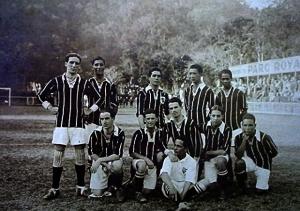 Equipe de Futebol do Vila Isabel em 1918.