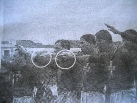 Detalhe do retoque da imagem