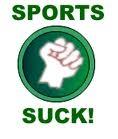 Sport Suck - uma das muitas iniciativas organizadas nos estados Unidos pela internet para combater envolvimento do governo com assuntos esportivos