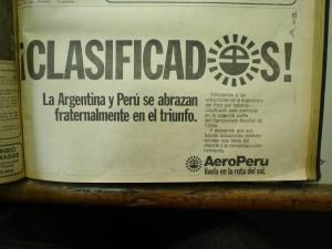 ANÚNCIO FRATERNAL AEROPERU
