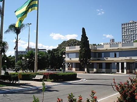 Complexo arquitetônico da Praça Cívica, morada do Arquivo Histórico Estadual de Goiás