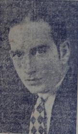 """José Nicolau Saddi, """"um esforçado esportista goiano"""". Fonte: Cidade de Goyas, Goiás, 25 de junho de 939, n. 49, p. 1."""