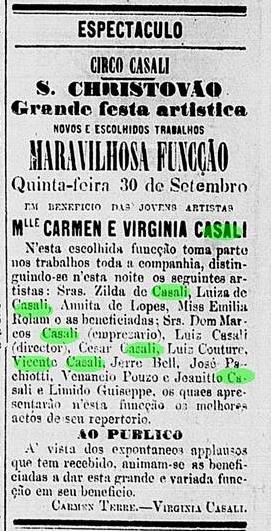 Gazeta de Notícias, Rio de Janeiro, 30 de setembro de 1875