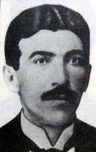 """Hildebrando Pontes, espécie de intelectual total da """"civilização do Brasil Central"""". Fonte: Academia de letras do Triângulo Mineiro."""