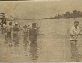 Pesca. Jogos Abertos Femininos de 1960 Fonte: Folha da Tarde