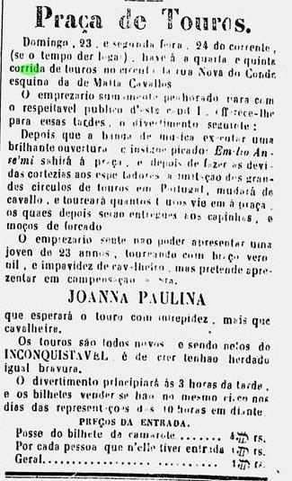 Diário do Rio de Janeiro, 22 de maio de 1847