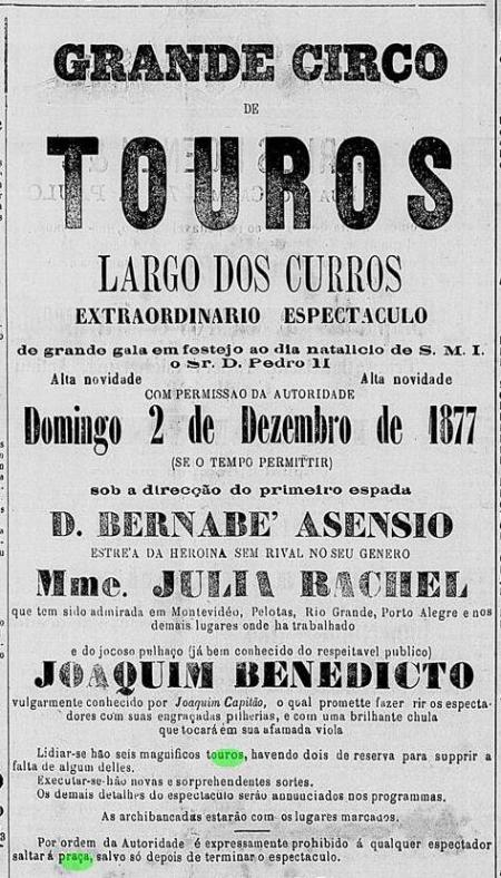 Correio Paulistano, 1 de dezembro de 1877