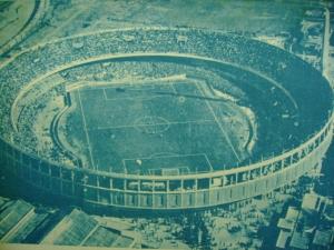 Estádio Presidente Perón.