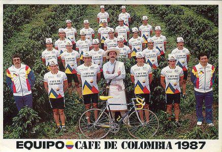 Equipo de ciclismo 1987