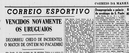 Correio da Manhã, Rio de Janeiro, 19 mai. 1944, p. 5.