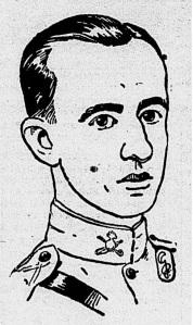 """Desenho de Roberto Drummond. Fonte: Desenho de """"Gerson"""". O Pais, Rio de Janeiro, 11 nov. 1928, n. 16093, p. 4."""
