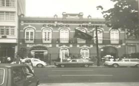 Sede do Guanabarense ocupado pelo Andrews, década de 1970. Acervo Fundação Rui Barbosa.