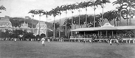 Campo do Paissandu alugado pelo Flamengo. Foto de William Nelson Huggins. Arquivo de família. Disponível em http://www.skyscrapercity.com/showthread.php?t=877776&page=83