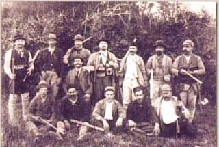 Caçada de marrecões, 1909.