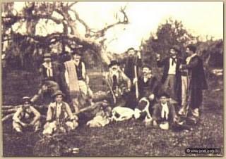 Caçadores de Perdizes – 1909
