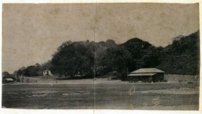Visão do Campo do Rio Cricket