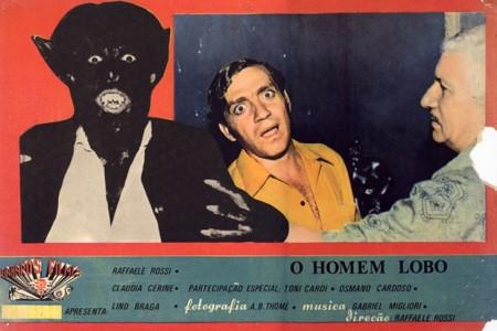 Cartaz de O Homem Lobo, filme dirigido do Rossi