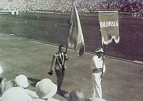 Jorge Perry fue el primer colombiano en Olímpicos (el desmayo en su debut contribuyó a su leyenda).