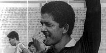 O árbitro Álvaro Ortega, assassinado em 1989 na cidade de Medellín, após apitar uma partida entre o Atlético Nacional e o América de Cali. Fonte: http://www.eltiempo.com/colombia/barranquilla/asesinato-del-arbitro-de-futbol-lvaro-ortega/14835436