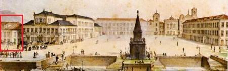 Ópera Nova Largo do Paço, atual Praça XV Debret