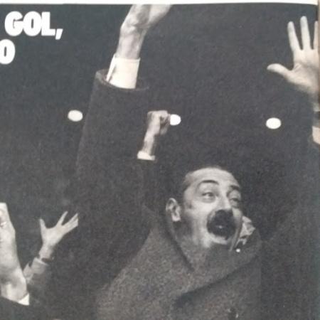 NUEVO HINCHA VIDELA comemorando o terceiro gol na final contra os holandeses