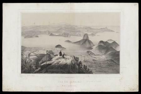 rio de janeiro e seus arredores (do corcovado) - sem data - martinet