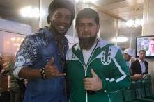 Ronaldinho e Kadyrov