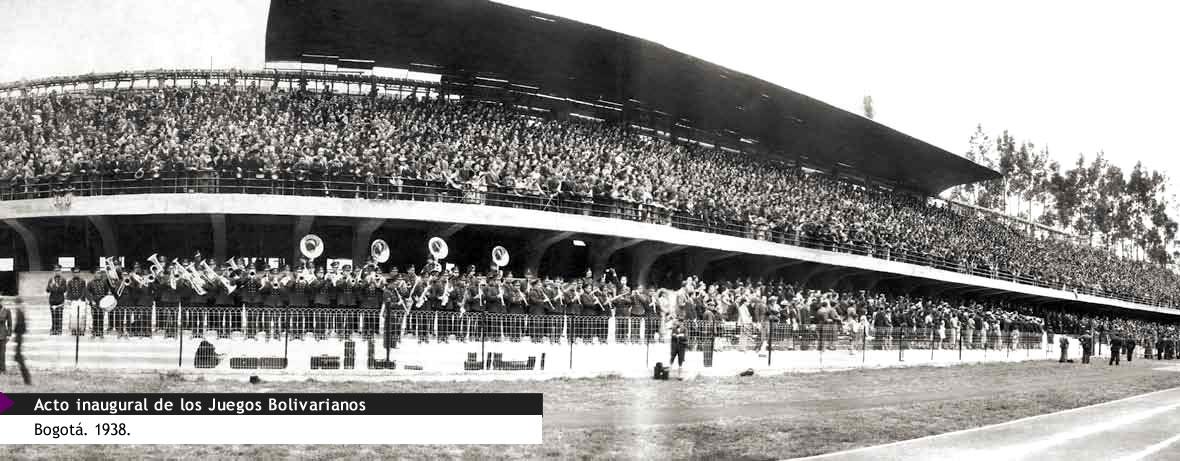 Acto_inaugural_de_los_Juegos_Bolivarianos_Bogota_1938
