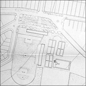 Centro esportivo municipal Fonte: Arquivo Corrêa Lima. Disponível em: Diniz (2007, p. 145).